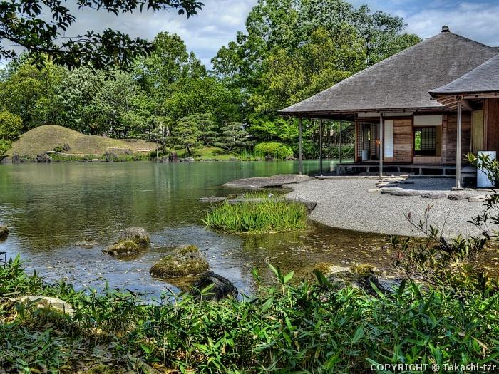 養浩館(旧御泉水屋敷)庭園