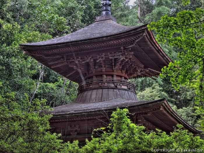 金鑽神社多宝塔