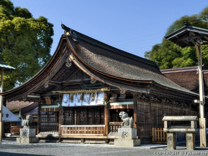 尾張大国霊神社拝殿