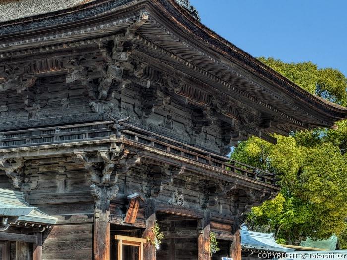尾張大国霊神社楼門
