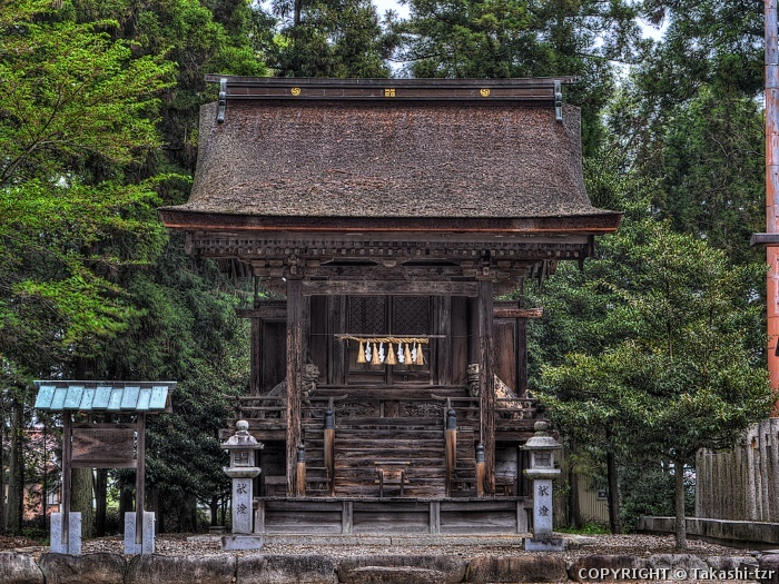 甲良神社権殿