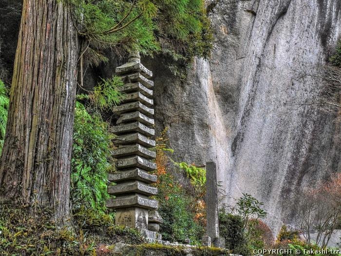 笠置寺十三重塔