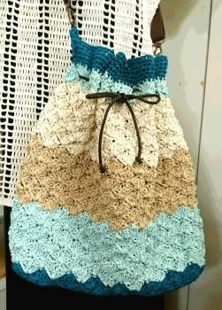 松編みショルダーバッグ3