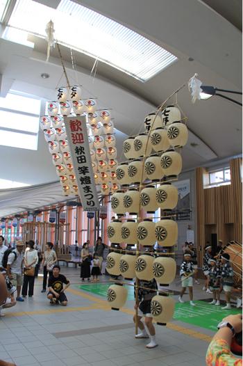 秋田竿灯祭り2017-1