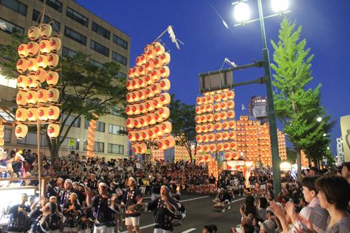 秋田竿灯祭り2017-8