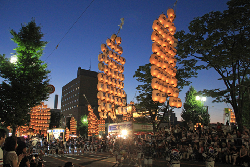 秋田竿灯祭り2017-9