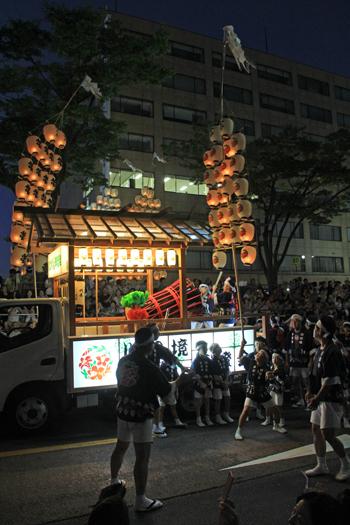 秋田竿灯祭り2017-10