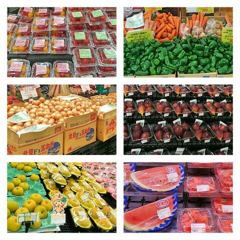 2017夏野菜販売風景2