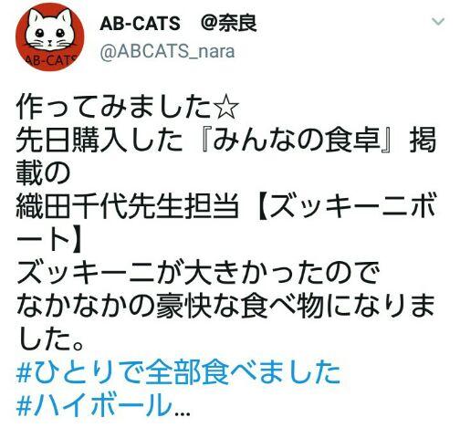 ズッキーニボートAB-CATS様