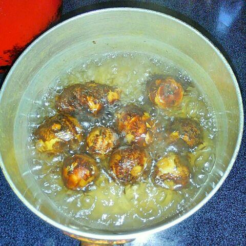 里芋の甘辛煮 3