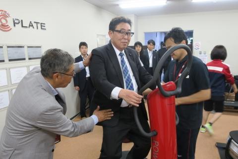 「総務企画委員会 鹿島スタジアム視察」 (18)