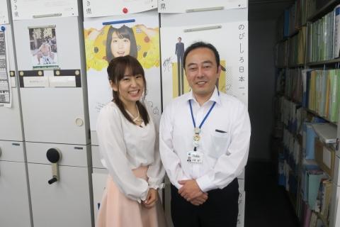 「櫻川めぐさんが県庁に来てくれました!」③