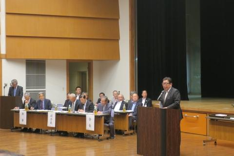 「平成29年度石岡市区長会総会」④