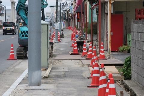 「守木町商店会の歩道が良くなりました!」 (2)