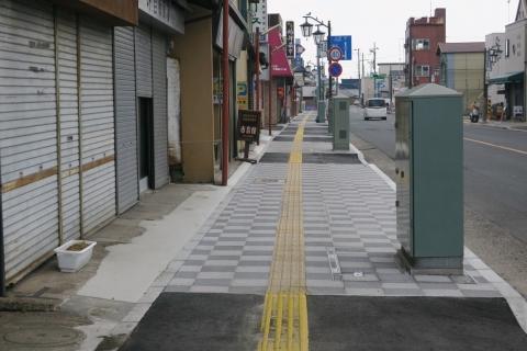 「守木町商店会の歩道が良くなりました!」 (5)