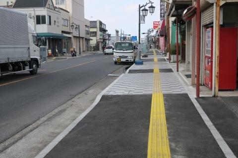 「守木町商店会の歩道が良くなりました!」 (3)