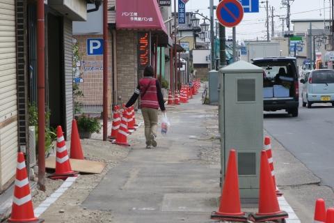 「守木町商店会の歩道が良くなりました!」 (6)