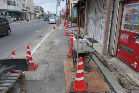 「守木町商店会の歩道が良くなりました!」 (8)