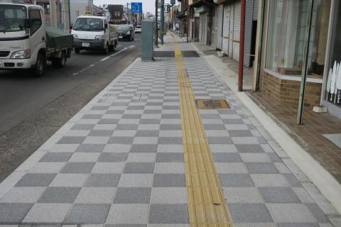 「守木町商店会の歩道が良くなりました!」 (9)