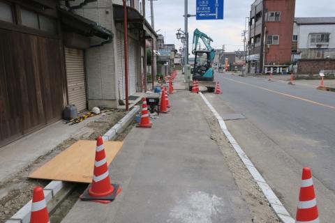 「守木町商店会の歩道が良くなりました!」 (10)