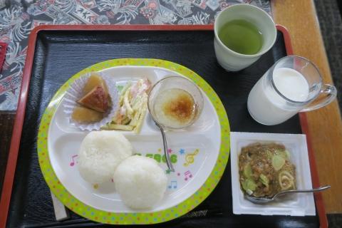 「今朝の朝食」①