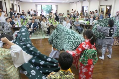 「平成29年度三村地区敬老会」⑤
