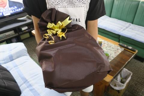 「父の日のプレゼントはパジャマ&ネクタイ」①