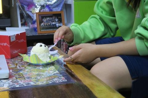 「上野パンダさんのケーキ」④