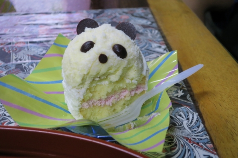 「上野パンダさんのケーキ」⑤