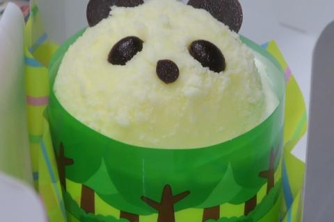 「上野パンダさんのケーキ」⑩