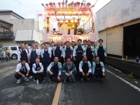 平成29年7月16日「小幡白鳥神社祇園祭」⓪