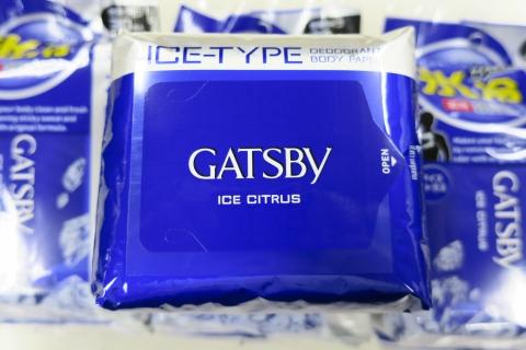 「GATBY デオドラントペーパー氷冷」④