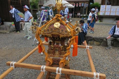 「平成29年7月16日小幡白鳥神社御祭礼」⑥