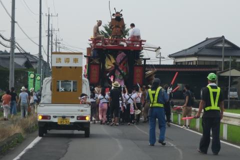 「平成29年7月16日片野八幡神社祇園祭」②