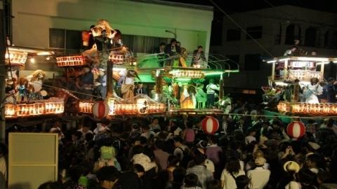 平成29年7月22日23日「柿岡八坂神社祇園祭」 (1)