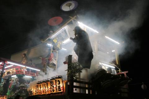 「柿岡 八坂神社祇園」④