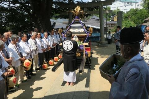 「平成29年度三村 須賀神社祇園祭」②