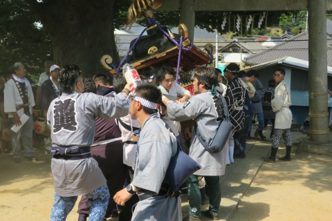 「平成29年度三村 須賀神社祇園祭」③