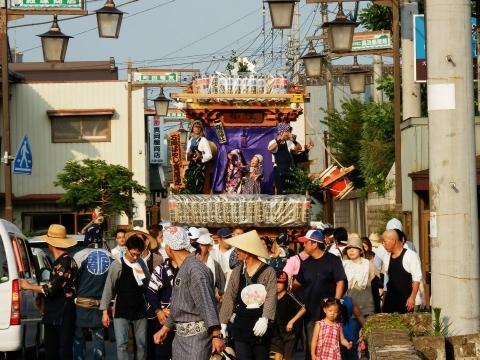 A「石岡高浜神社青屋祭」