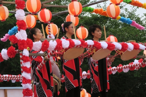 「第17回ハートピア夏祭り」⑦