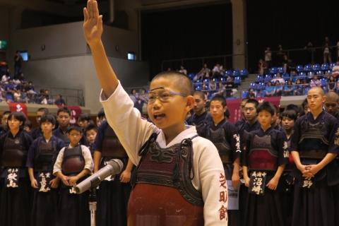 「平成29年度茨城県少年剣道大会」①