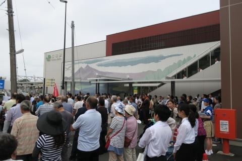 2「石岡駅前大井川かずひこ」街頭演説会⑭