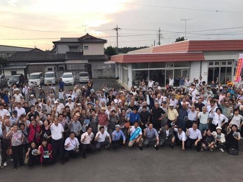 「平成29年8月22日友部・岩間・美野里」街頭演説会 (6)