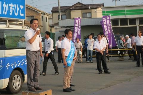 「平成29年8月22日友部・岩間・美野里」街頭演説会 (17)