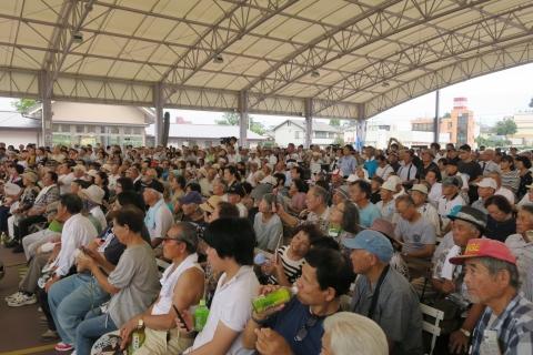「大井川かずひこ街頭演説会」8月25日⑧
