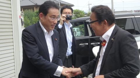 「大井川かずひこ街頭演説会」8月25日⑰
