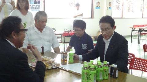 「大井川かずひこ街頭演説会」8月25日⑱