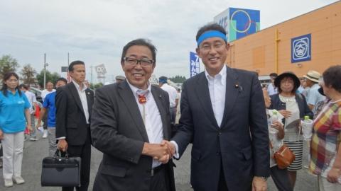 「大井川かずひこ街頭演説会」8月25日⑲