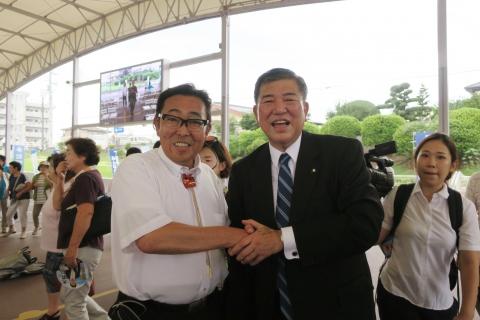「大井川かずひこ街頭演説会」8月25日⑳