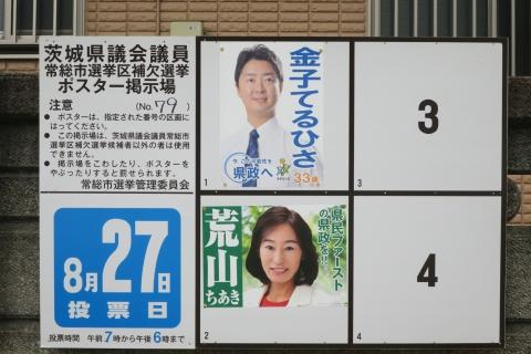 「3平成29年茨城県知事&県議補欠選挙ポスター掲示板」 (2)